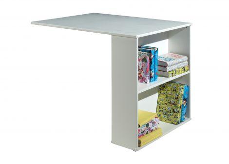 Ausziehbarer Schreibtisch Charlotte - weiß