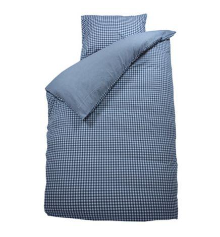 Bettbezug Raute grau