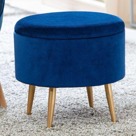 Pouf Willandra - blau