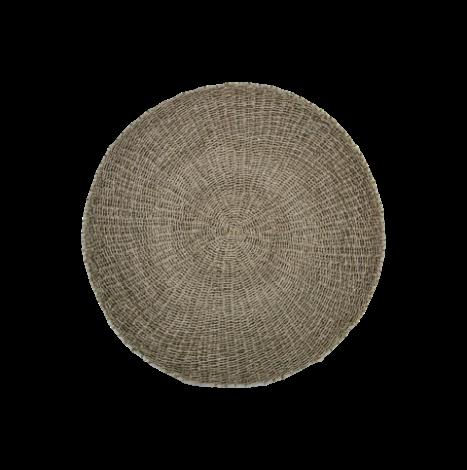 Teppich Malibu 120cm Raphia/Meeresgras natur