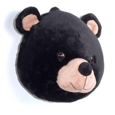 Plüschtierkopf Bär
