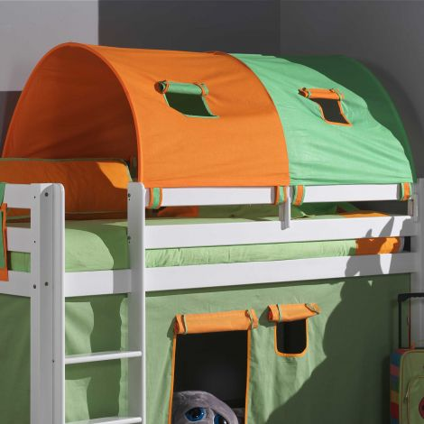 Tunnel grün/orange - groß