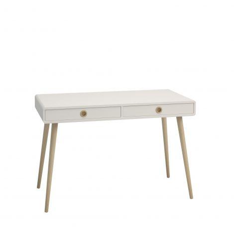 Schreibtisch Linz 114cm - weiß