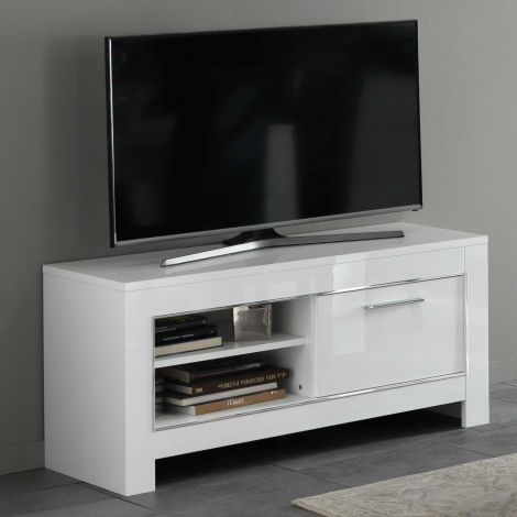 Modena Fernsehmöbel 112 cm - weiß