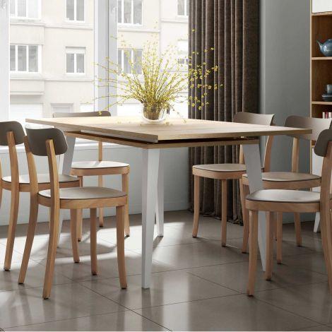 Ausziehbarer Tisch Kim 134/174 - Eiche
