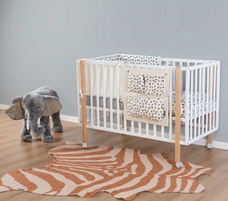 Vorleger Zebra 145x160 - nackt
