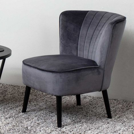 Lark resting chair - black, dark grey