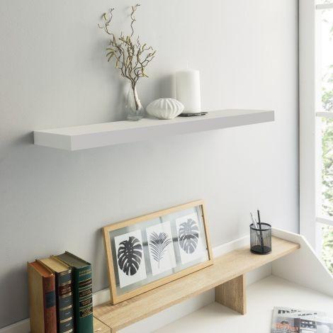 Wandregal Regal 60cm - Hochglanz weiß