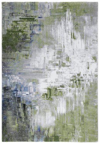 Teppich Galerie Landschaft 190x133 - Grün