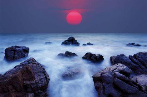 Leinwand Ozean 78x118cm