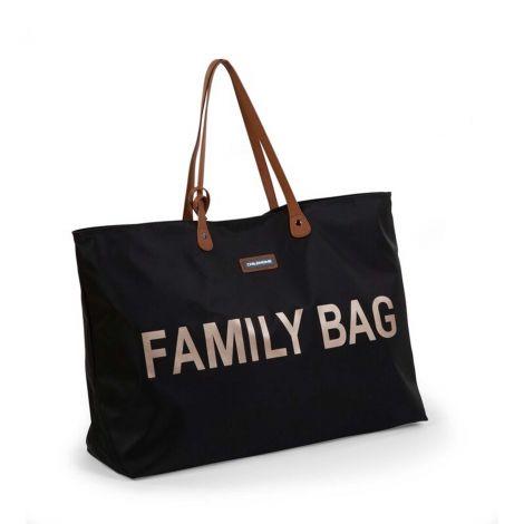 Wickeltasche Family Bag - schwarz/gold
