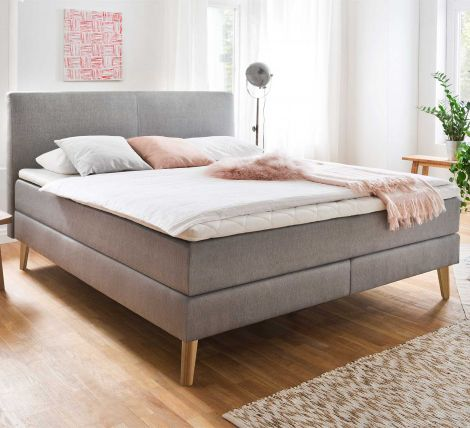 Boxspring bed Greta - 180x200 - Taupe