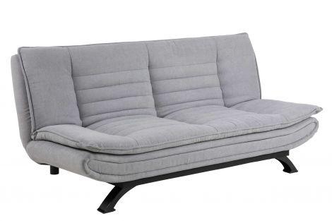 Faith sofa bed - black, light grey