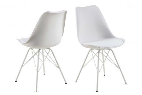 2er-Set Schalensitze Irma - weiß