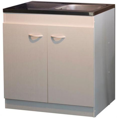 2-türiger Unterschrank für die Spüle (80 cm)
