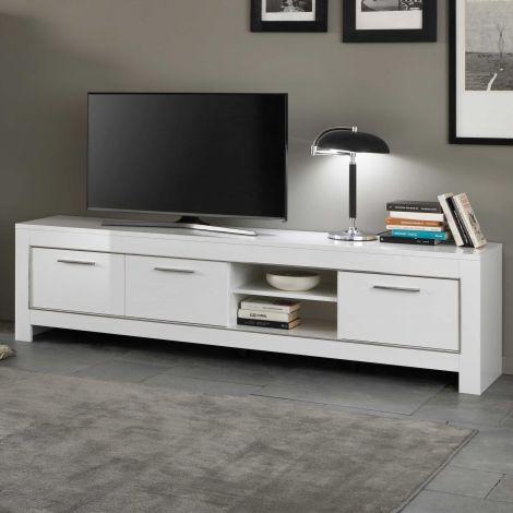 Modena Fernsehmöbel 207 cm - weiß