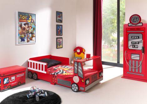Kinderbett (70x140cm) Feuerwehr