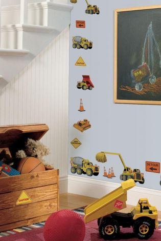 RoomMates Wandsticker - Baustelle
