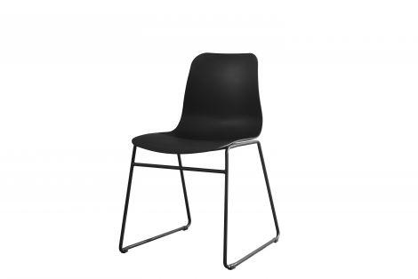 Satz von 2 Stühlen Marie - schwarz