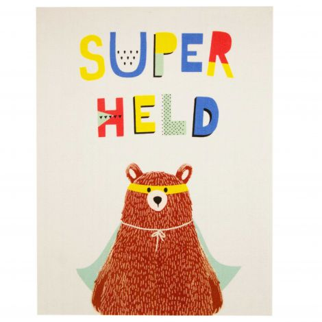 Teppich Superheldenbär