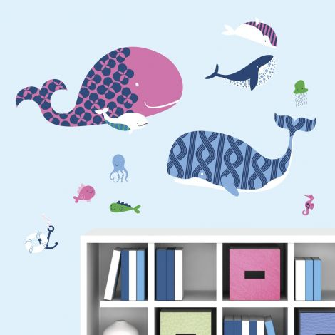 Wallstickers Meereswale