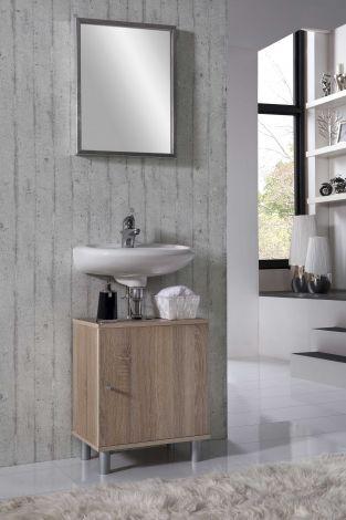 Waschtischunterschrank Rowan - Eiche
