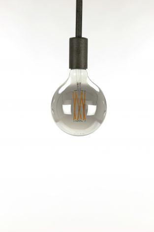 Glühlampe LED Filament Globus Ø12 5 - E27 6W 2100K 450lm dimmbar - Smoke grey glass