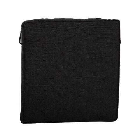 Sitzkissen Stapelstuhl - schwarz