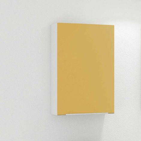Hängeschrank Hansen 40cm 1 Tür - gelb/weiß