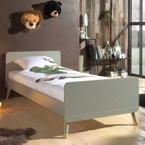 BILLY BED OLIVE GREEN 90x200 CM *