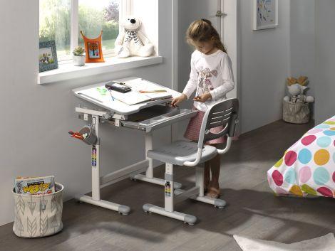 Schreibtisch Comfortline 201 - grau