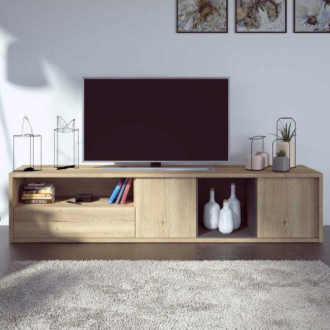 Fernsehschrank Frame 217cm - Eiche hell
