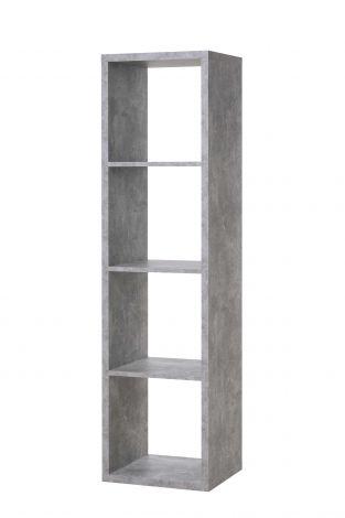 Lagerregal Max 4 Fächer - Beton