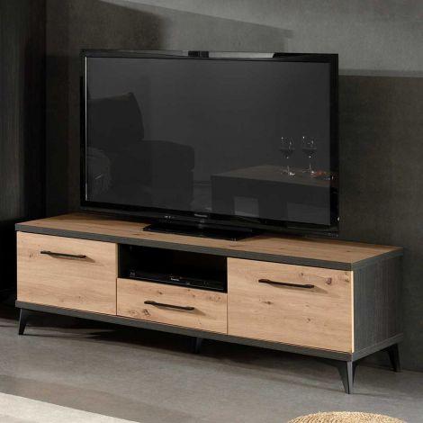 Fernsehschrank Lodz 150cm - braun