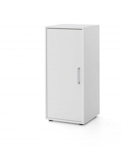 Maxi-Office-Schrank 1 Tür - weiß