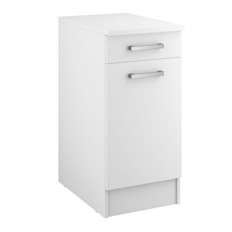 Unterschrank Uno 40 cm mit Schublade und Tür