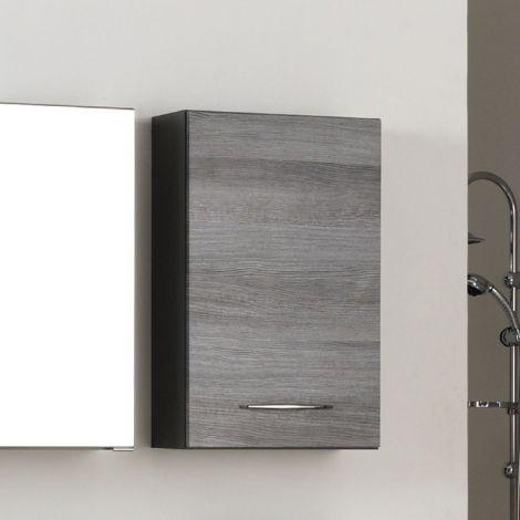 Hängeschrank Florent 40cm 1 Tür - graphit/graue Eiche