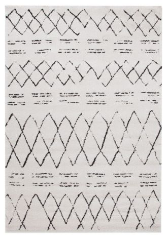 Teppich Berber Draw 190x133 - Off-white