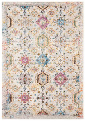 Teppich Mamoo D 190x133 Weiß/mehrfarbig