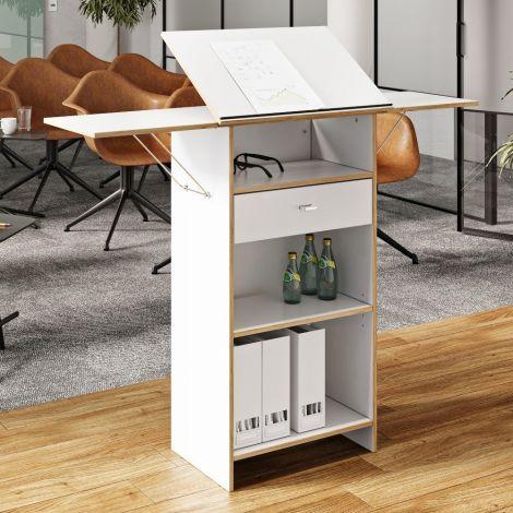 Stanley Schreibtisch - weiß