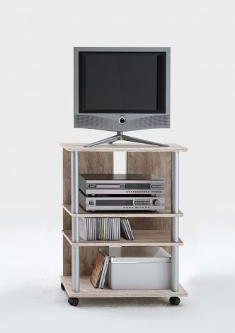 TV Rack Variant - graue Eiche