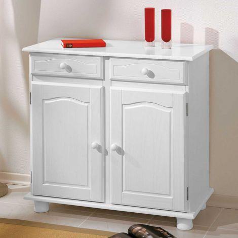 Sideboard Abaco (2 Türen) - weiß