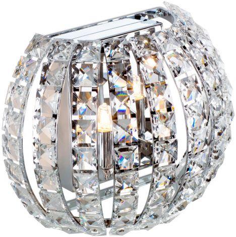 Wandlampe Crystal -  2x 42w G9