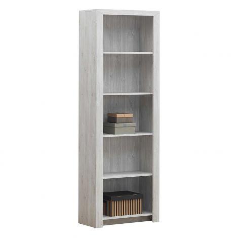 Bücherregal Elvira 70cm - Eiche weiß