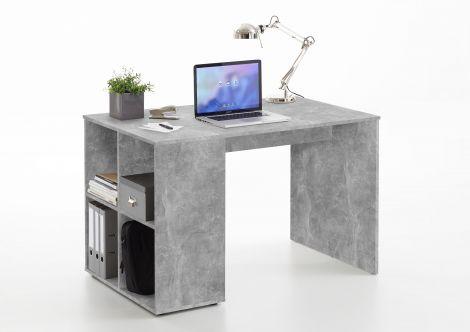 Schreibtisch Henry 117cm - Beton