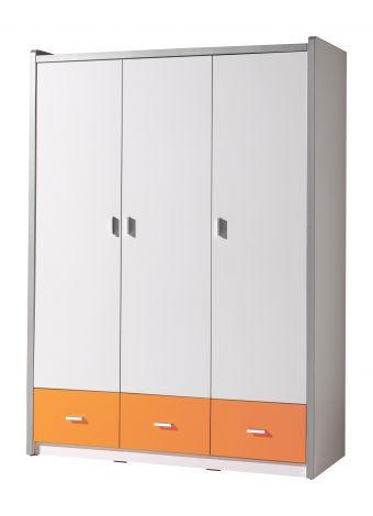 Kleiderschrank Bonny 3 Türen - orange