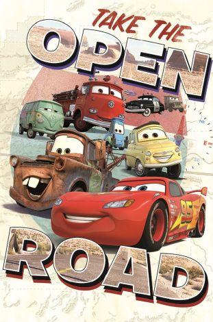 Leinwandbild Cars Open Road