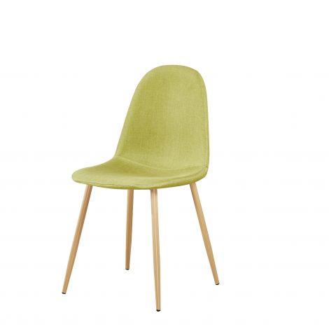 Satz mit 4 Stühlen Yo - grün