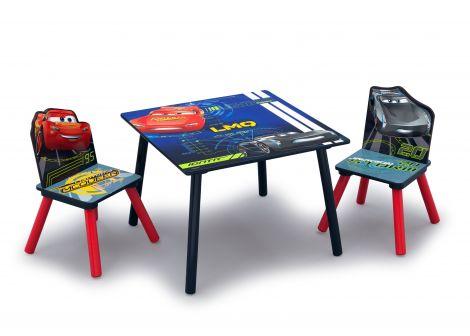 Kindertisch mit Stühlen Cars 3
