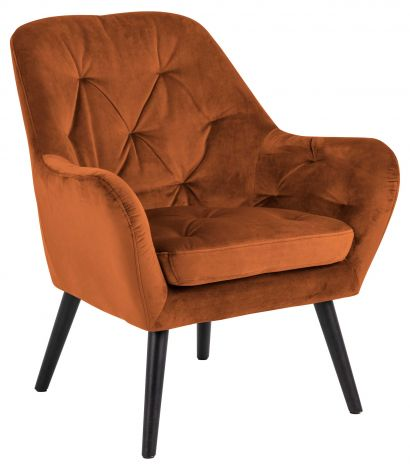 Astro resting chair - black, copper